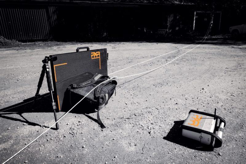 Portable X-Ray Baggage Scan